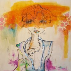 """Orange Crush"", Oil on Birch x Orange Blush, Birch, Original Paintings, My Arts, Artist, Artists"