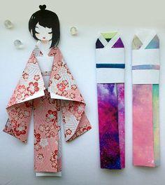 Marcador de muñeca kimono