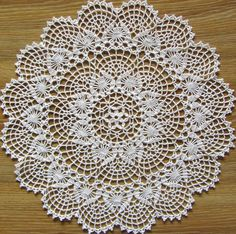 Fireworks pattern by Galyna Borysova Crochet Doily Patterns, Thread Crochet, Crochet Motif, Crochet Designs, Crochet Doilies, Doilies Crafts, Lace Doilies, Crochet Home, Irish Crochet