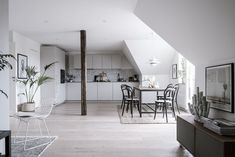Stylish attic home - via Coco Lapine Design More