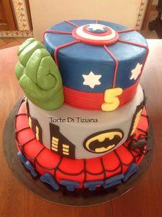 Cake supereroi