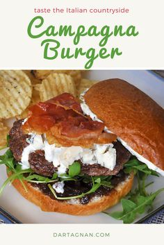 In a nod to the Italian countryside, our wagyu beef is paired with fig jam, crispy prosciutto, arugula, and a mixture of Gorgonzola and mascarpone in this super tasty burger.
