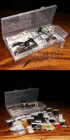 Other Fly Tying Materials 23816: Hareline Fly Tying 48 Piece Materials Kit With Economy Tools And Vise -> BUY IT NOW ONLY: $111.58 on eBay!