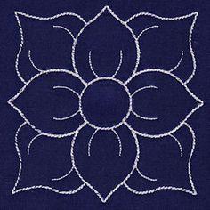 Designs in Stitches - Damask Decor Mini