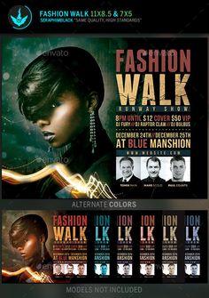 Fashion Flyer Template PSD #design Download: http://graphicriver.net/item/fashion-flyer-template/13365147?ref=ksioks