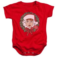 LUCY WREATH Baby Snapsuits