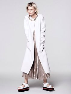 Sasha Pivovarovaby David Sims for Vogue US, January 2014.