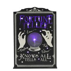 Shop for the Fortune Teller LED Tabletop Sign with Try Me by Ashland® at Michaels