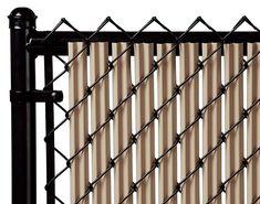 Ridged Slats Slat Depot Single Wall Bottom Locking Privacy Slat for and Chain Link Fence Beige) Fence Slats, Pallet Fence, Metal Fence, Fence Panels, Gabion Fence, Rustic Fence, Concrete Fence, Fence Landscaping, Backyard Fences