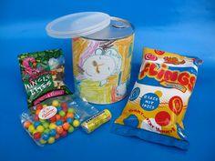 Birthday Gifts in a Tin Tin Cans, Raisin, Birthday Gifts, Lunch Box, Branding, Artwork, Birthday Presents, Brand Management, Work Of Art