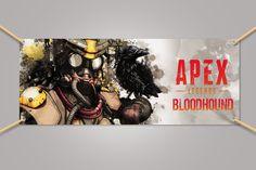 Apex Legends BloodHound Banner Vinyl 3x5