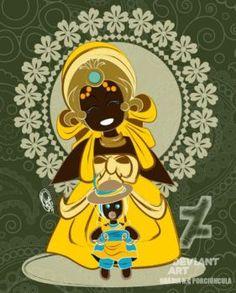 Mamae Oxum by Oradine