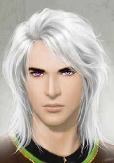 -Mika- by shuangwen on DeviantArt Character Portraits, Character Art, Character Ideas, Character Design, Male Fairy, Vampire Masquerade, Fantasy Art Men, Fantasy Landscape, Character Illustration