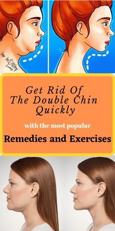 Get rid of the Double Chin quickly with the most popular Home Remedies and Exercises! Get rid of the double chin quickly with the most popular remedies and exercises! Double Chin Exercises, Neck Exercises, Facial Exercises, Jowl Exercises, Health And Fitness Tips, Health And Beauty, Yoga Facial, Reduce Double Chin, Skin Care Routine For 20s