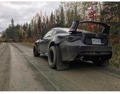 Subaru BRZ off-road