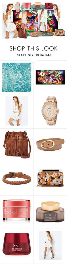 """I walk with smile"" by utitito on Polyvore featuring Designers Guild, Mr Perswall, Free People, FOSSIL, SK-II, women's clothing, women's fashion, women, female and woman"