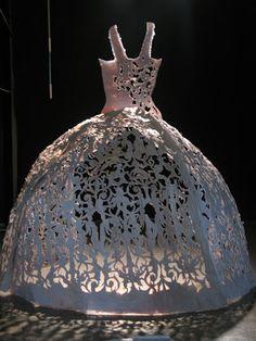 artisan d'éphémère: Robes de papier