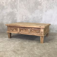 Solid Wood Coffee Table, Coffe Table, Interior Styling, Interior Decorating, Interior Design, Online Furniture, Home Furniture, Raw Wood Furniture, Living Room Decor