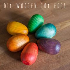 Easter wooden toy eggs- materials sold out this year, try for next year (beeswax cheapest on amazon)