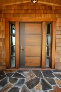Are you looking for the best wooden doors for your home that suits perfectly? Then come and see our new content Wooden Main Door Design Ideas. House Front Design, Modern Exterior Doors, House Gate Design, Latest Door Designs, Main Entrance Door Design, Door Design Interior, Wooden Main Door