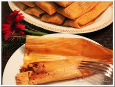 Tamales using masa harina link to recipe:http://bit.ly/1BPdTkp