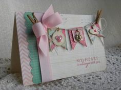 Good girly card - easily could be made from stuff in my stash