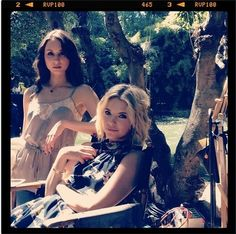 Troian Bellisario & Ashley Benson