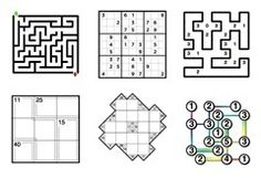 A superb collection of downloadable PDF files of puzzles, Sudoku, crosswords, mazes and much more.