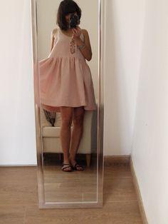 Jolie robe d'été Une Poule à Petits Pas à partir du modèle Aime comme Mirage