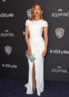 Pin for Later: The 32 Most Wedding-Worthy Dresses to Come Down the Red Carpet For the Sophisticated Bride Jennifer Lopez wearing Roland Mouret at the Golden Globes afterparty. Best Celebrity Dresses, Celebrity Red Carpet, Celebrity Style, Jennifer Lopez, Wedding After Party, Wedding Dresses Photos, Sophisticated Bride, Celebs, Celebrities