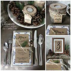 Lesní svatební menu