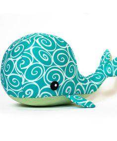 Whale Plush Softie - Go To Patterns