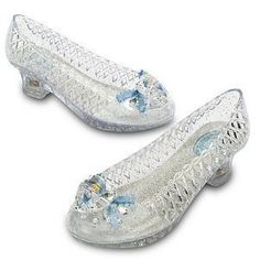 Disney Store Cinderella Slippers Light Up Shoes Size 11/12 by Disney Store. $19.97. Your little princess will feel like she's at the ball every time she wears her Cinderella slippers! As clear as glass, these shoes have glitter detailing so her every step will sparkle, and the light up heels deliver fairy tale magic wherever she goes!