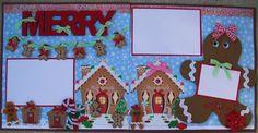 AMAZING GRACE: Christmas Village Christmas Scrapbook Layouts, Disney Scrapbook, Scrapbook Cards, Christmas Layout, Scrapbooking Ideas, Scrapbook Sketches, Scrapbook Page Layouts, Scrapbook Templates, Christmas Albums