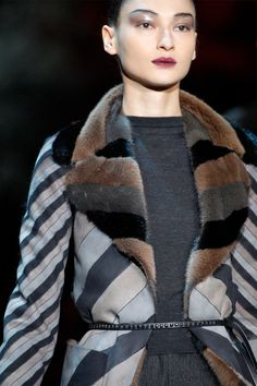 How cool is this? Inside out mink jacket from Marc Jacobs.