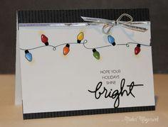 Shine Bright by Nichol Magouirk - using Merry & Bright stamp set by Essentials by Ellen
