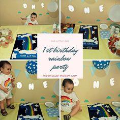 Aggelos rainbow and stars birthday party inspired by eldekor. Baby Birthday, 1st Birthday Parties, Toddler Bed, Rainbow, Stars, Party, Inspiration, Decor, Biblical Inspiration