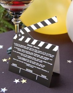 oscar themed party ideas