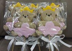 Festa da ursa! Biscoito decorado!