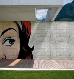 http://www.thefancy.com/lorenagcarbajal - Outdoor Wallpaper by Wall & Deco