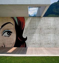 http://www.thefancy.com/lorenagcarbajal - Outdoor Wallpaper by Wall & Deco