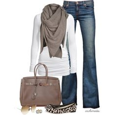 """Just Relax"" by archimedes16 on Polyvore---luv everything, especially the pop of animal print and ruching at the waist."