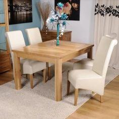 Exeter Solid Oak Dining Room Furniture Draw Leaf