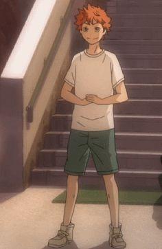 Hinata with his adorable determination.