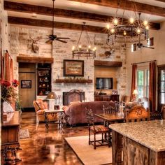 farmhouse interior design homeadore, ranch design ideas light ranch style living room interior, 1960 39 s updated ranch style home tour debbiedoos, ranch house interior design kitchen house design and, Texas Ranch Homes, Texas Country Homes, Western Homes, Country Style Homes, Country Home Plans, Texas Style Homes, Texas Hill Country, Country House Design, Country House Interior
