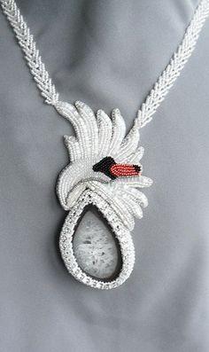 Лебединая песня | biser.info - всё о бисере и бисерном творчестве