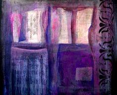 """Saatchi Art Artist Natalia Kaza; Painting, """"Two dresses"""" #art"""