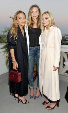Elizabeth Olsen, Elizabeth And James, Mary Kate Ashley, Ashley Olsen Style, Olsen Twins Style, Olsen Sister, Celebrity Siblings, Rosie Huntington Whiteley, Michelle Obama