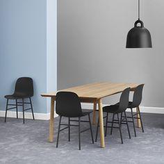 Buy Normann Copenhagen Form Chair - Steel - Black | Amara