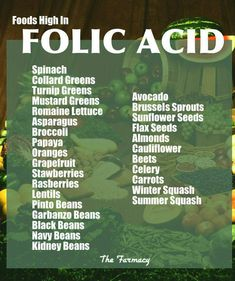 Folic Acid, prego women should consume this